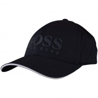 Hugo Boss Green Navy Boss Logo Cap