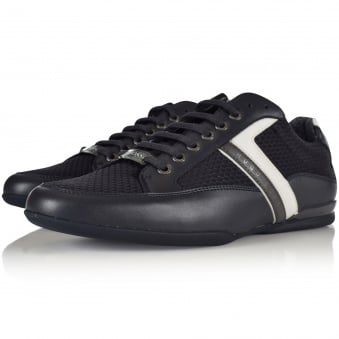 Hugo Boss Green Space Low Navy Trainers