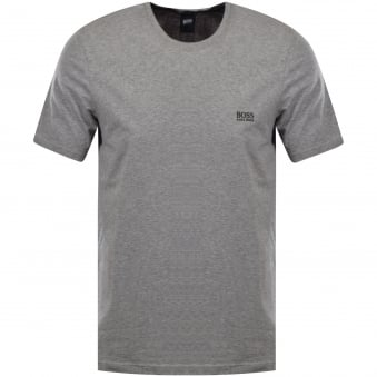Hugo Boss Grey Logo T-Shirt