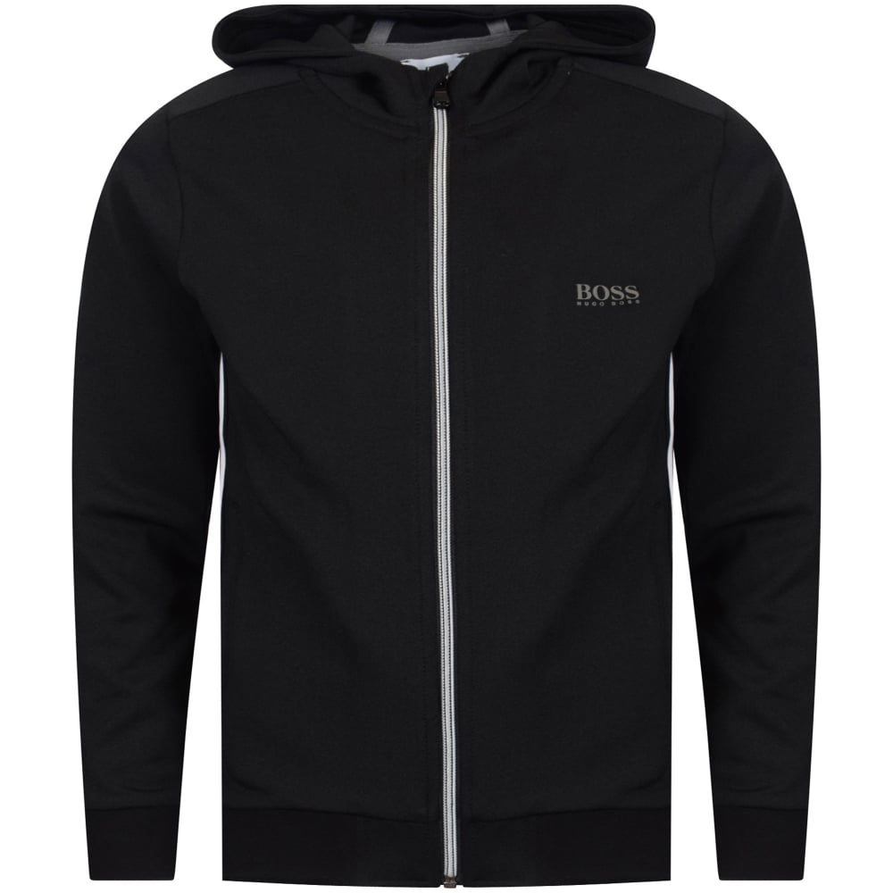0644687a HUGO BOSS JUNIOR Hugo Boss Junior Black Logo Hoodie - Junior from ...