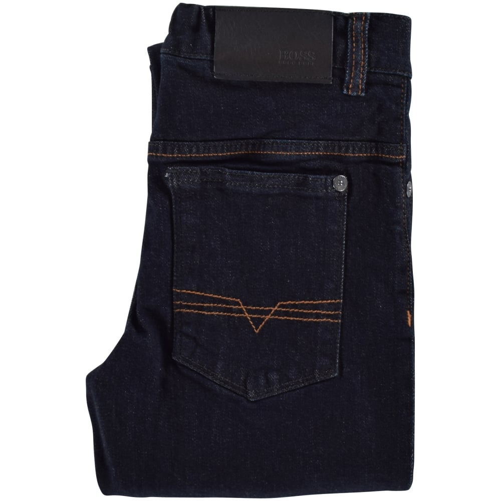 81d5abc86db HUGO BOSS JUNIOR Hugo Boss Junior Raw Denim Slim Fit Jeans - Junior ...