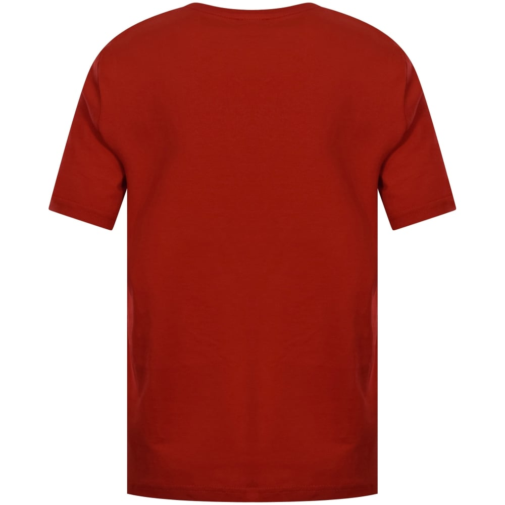 5917887b4bae4 HUGO BOSS JUNIOR Hugo Boss Junior Red Short Sleeve T-Shirt - Junior ...