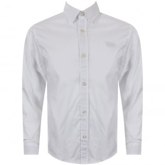 Hugo Boss Junior White Logo Shirt