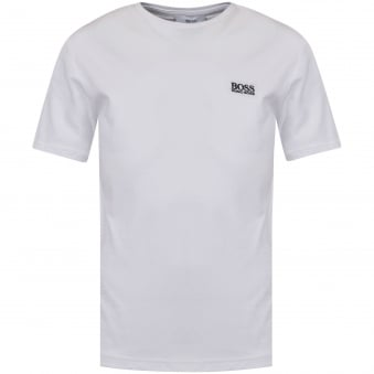 Hugo Boss Junior White Logo T-Shirt