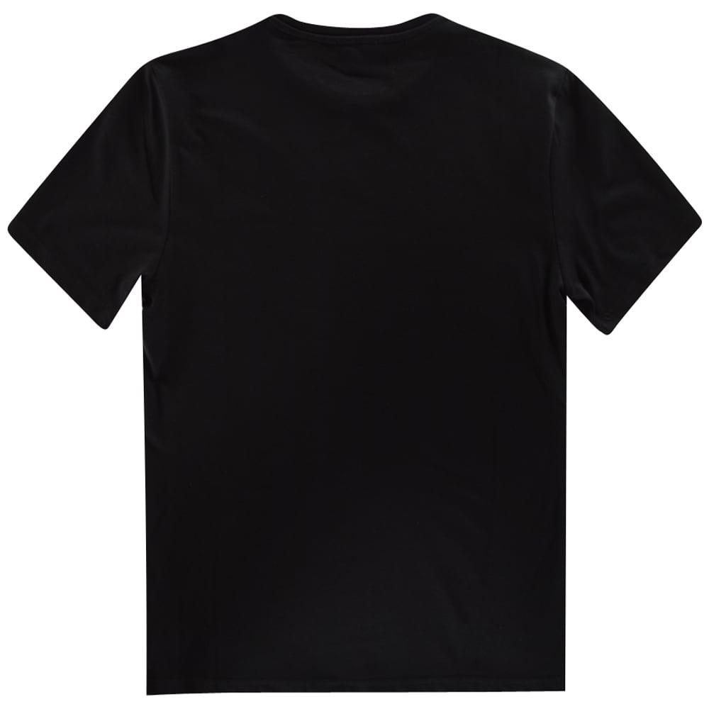 e4cc2679 HUGO BOSS JUNIOR Hugo Boss Kids Black Plain Logo T-Shirt - Junior ...