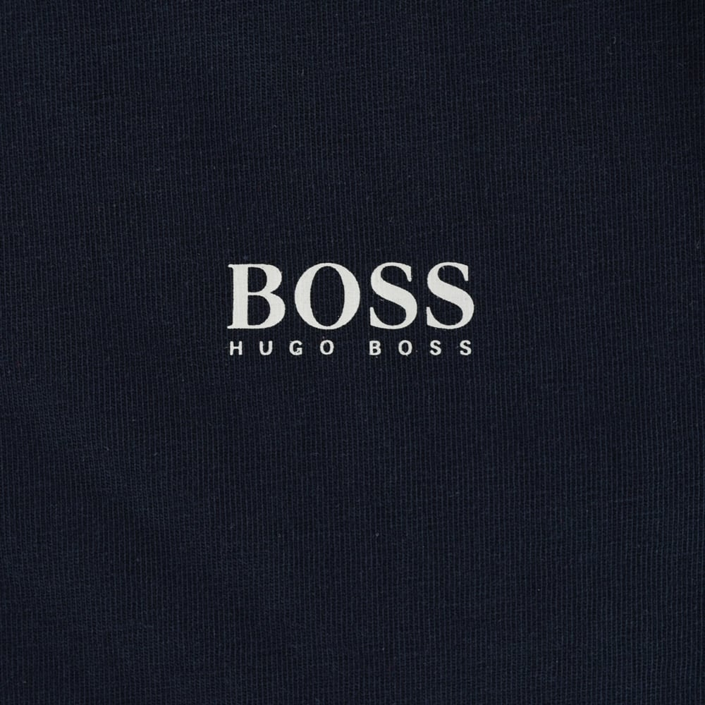 20b23ffd HUGO BOSS JUNIOR Hugo Boss Kids Navy Plain Logo T-Shirt - Junior ...
