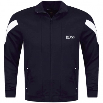 Hugo Boss Navy/White Logo Track Top