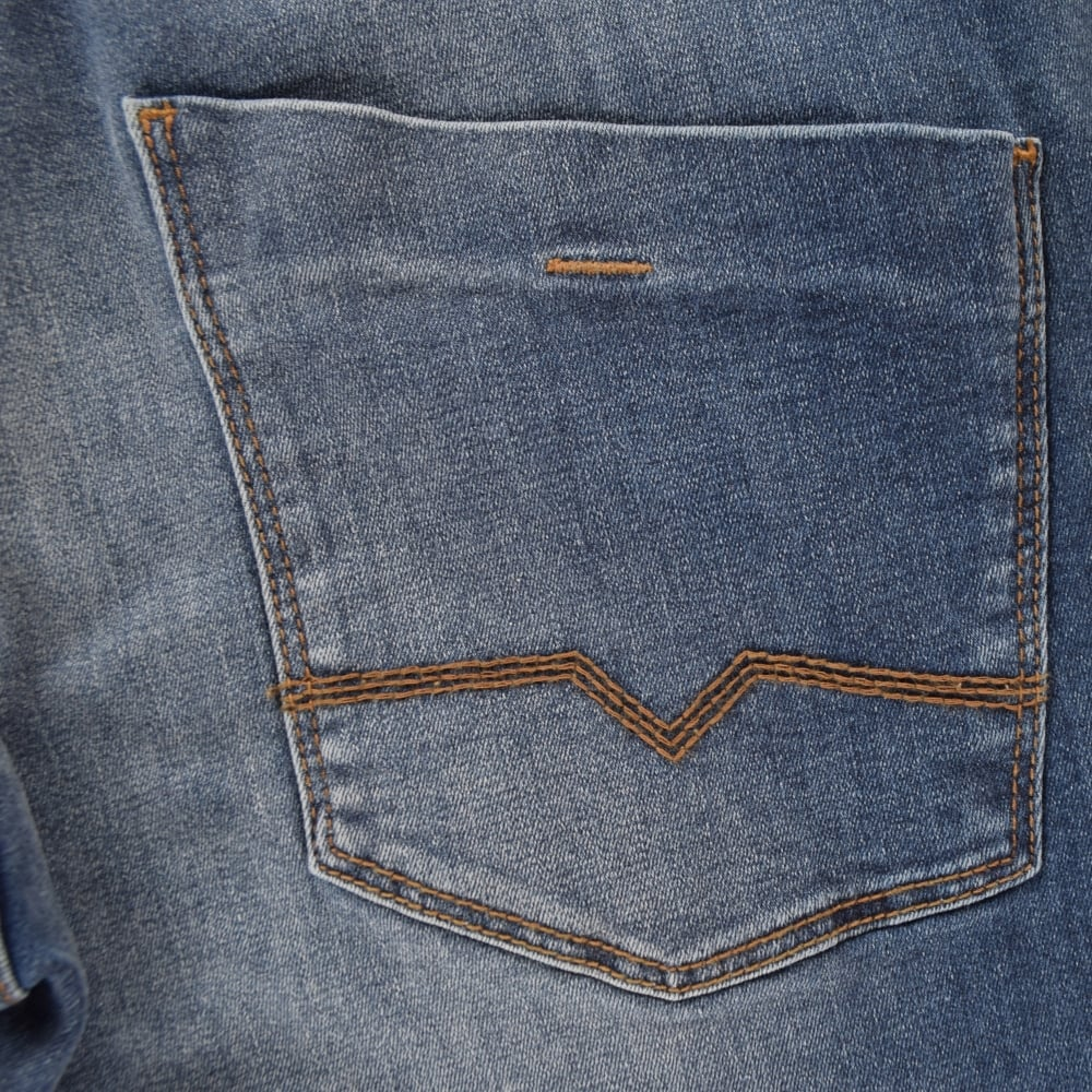 new appearance new release search for genuine Hugo Orange 63 Slim Fit Blue Jeans