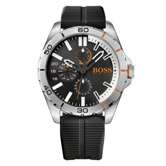 Hugo Boss Orange Black/Silver Dial Detail Watch