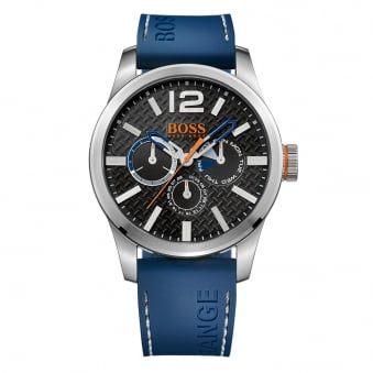 Hugo Boss Orange Blue Strap Logo Watch