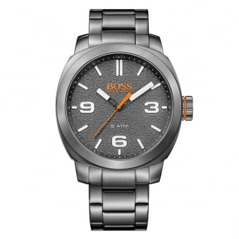 Hugo Boss Orange Grey Dial Detail Watch