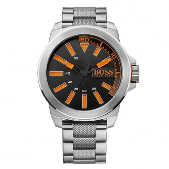 Hugo Boss Orange Silver Black/Orange Dial Watch