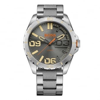 Hugo Boss Orange Silver Large Dial Watch