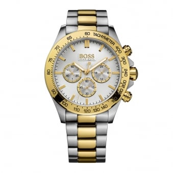 Hugo Boss Silver/Gold Silver Dial Watch