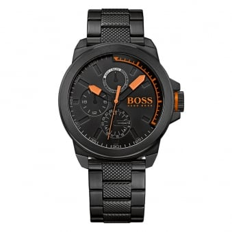 Hugo Boss Orange Black/Orange Dial Detail Watch