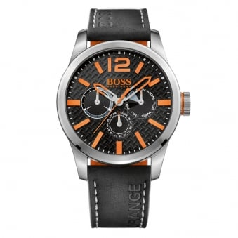 Hugo Boss Orange Black/Silver Large Dial Watch