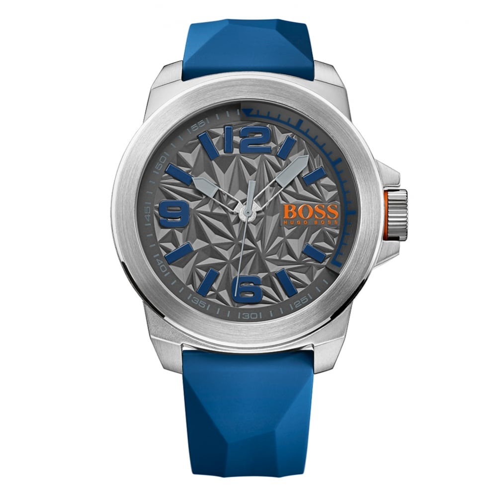 300a5f5999827 HUGO BOSS WATCHES Hugo Boss Orange Blue Large Dial Watch - Men from  Brother2Brother UK