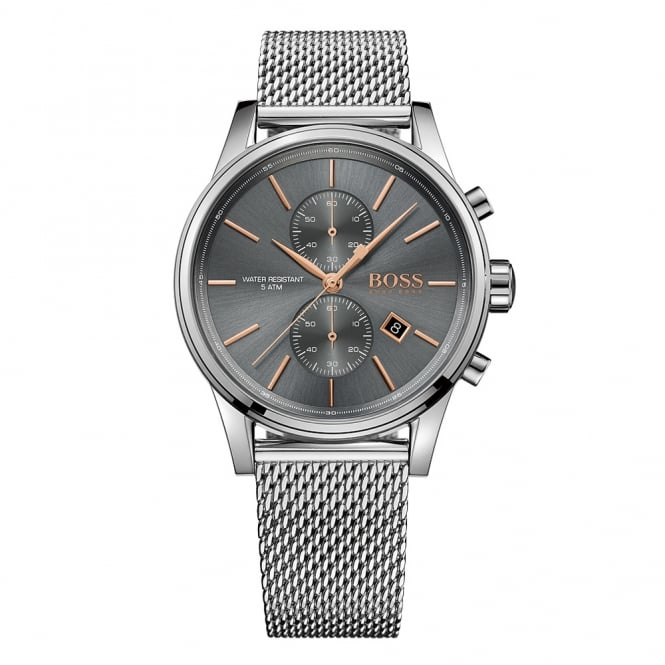 HUGO BOSS WATCHES Hugo Boss Silver Water Resistant Watch