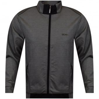 Hugo Boss Zip Through Black/Grey Jacket