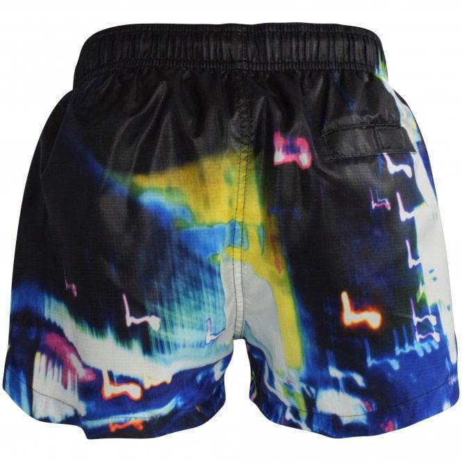 HUGO City Lights Swim Shorts Reverse