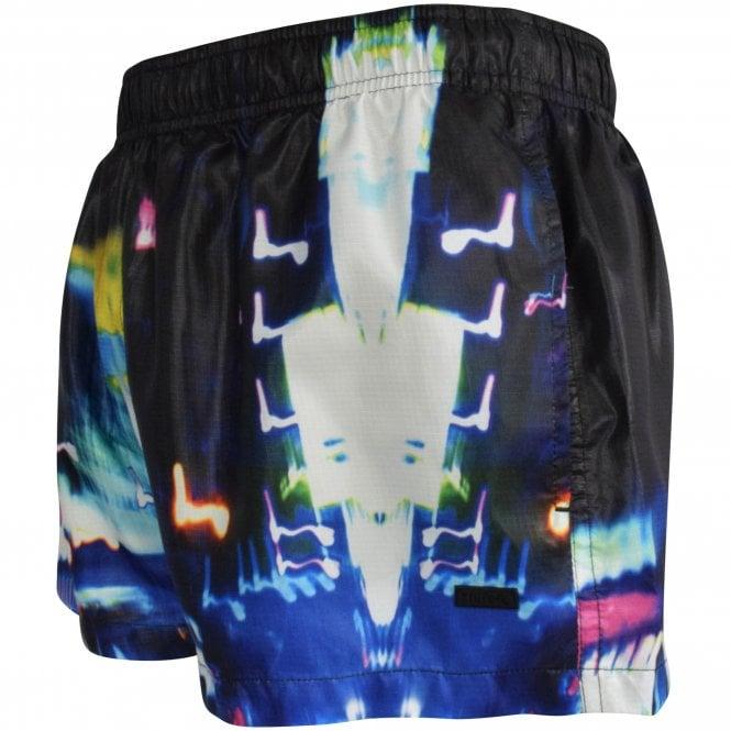 HUGO City Lights Swim Shorts Side