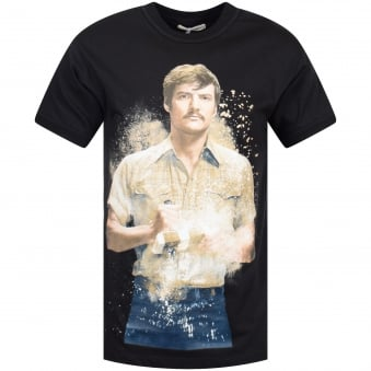 Ih Nom Uh Nit Black Jersey Pena Print T-Shirt