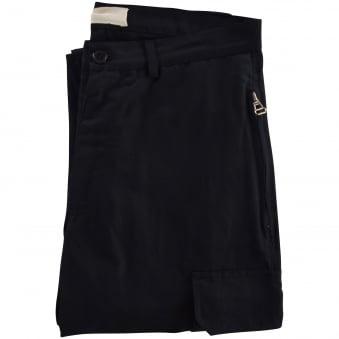 Ih Nom Uh Nit Black Zip Cargo Pants