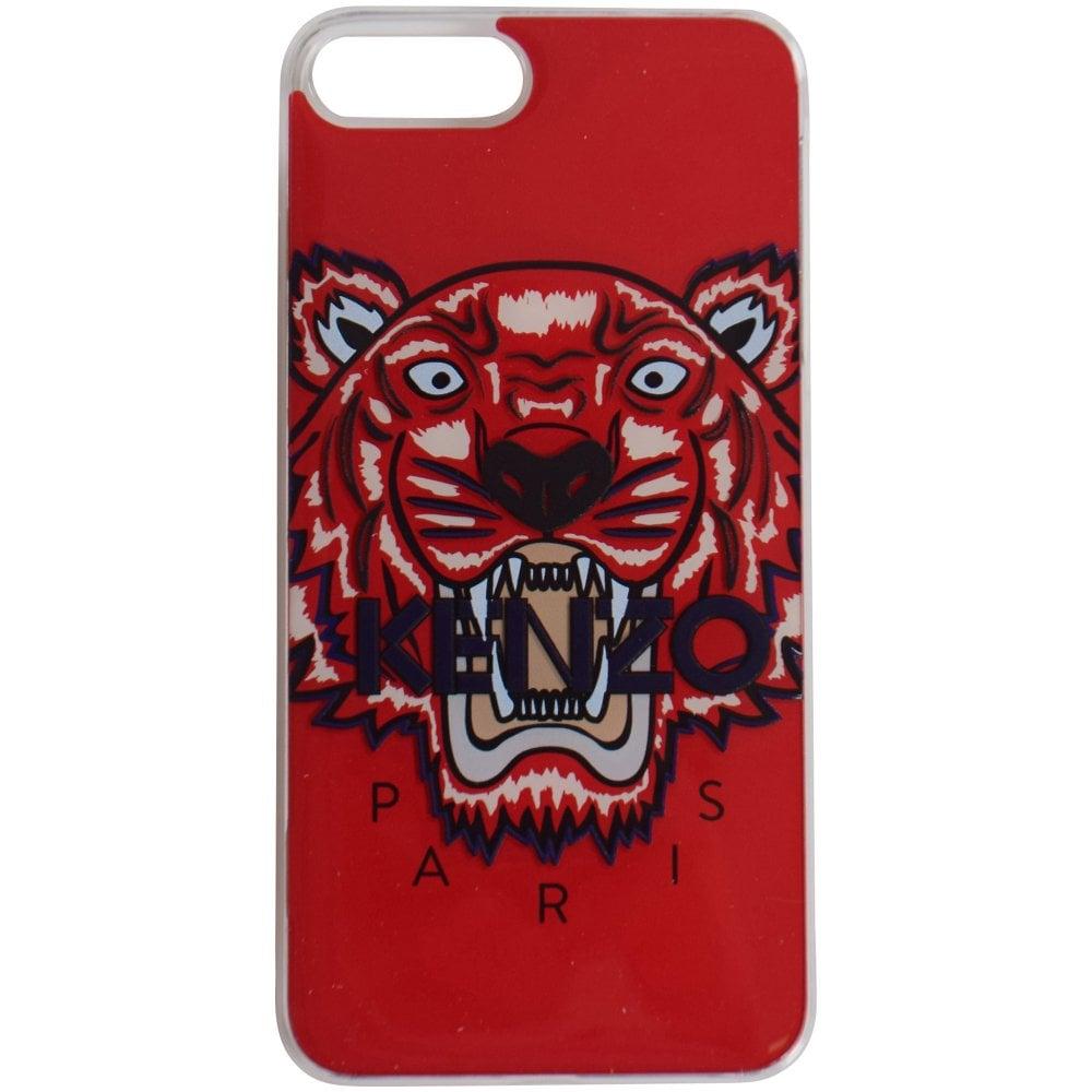 arrives e56e6 23249 iPhone 7/8 Plus Red Tiger Case