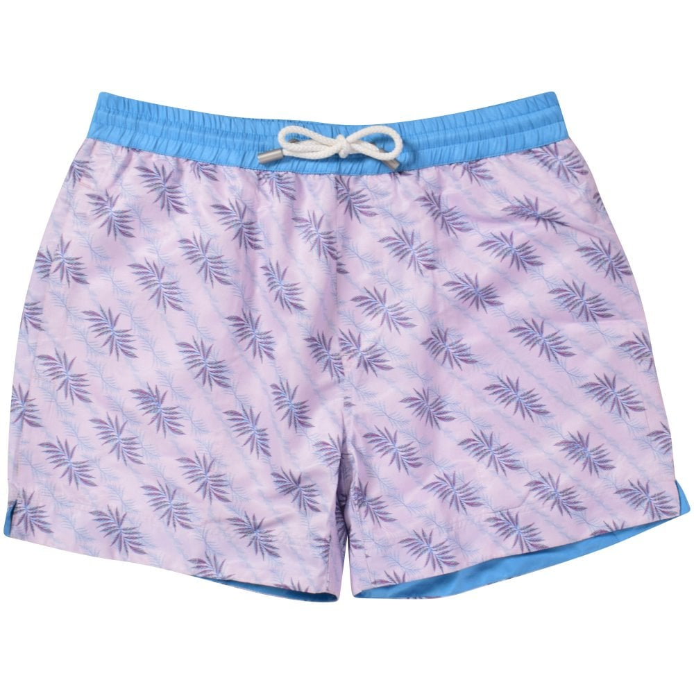 33da2cf2b7 THOMAS ROYALL Italy Floral Swim Shorts - Department from ...