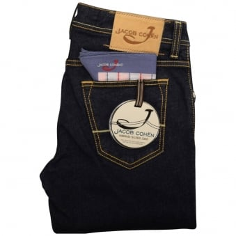 Jacob Cohen Dark Denim Slim Fit Jeans
