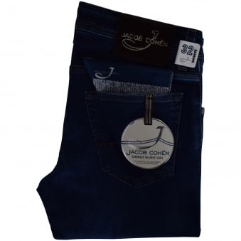 Jacob Cohen Dark Wash Slim Fit Jeans