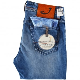 Jacob Cohen Light Wash Blue Jeans
