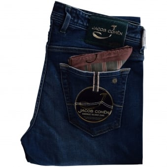 Jacob Cohen Limited Edition Mid Wash Jeans