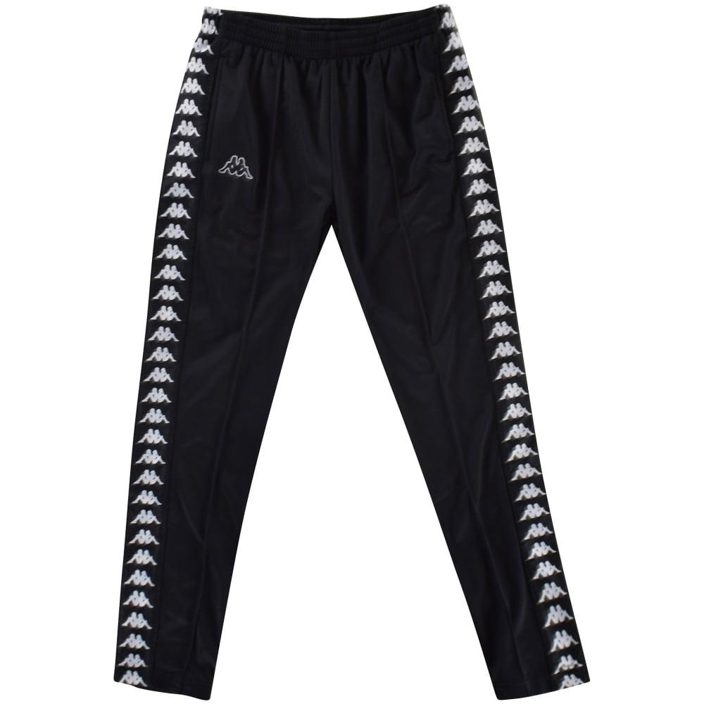 ddd5c4ab23 KAPPA Kappa Black/Black Slim Fit Sweatpants - Department from ...