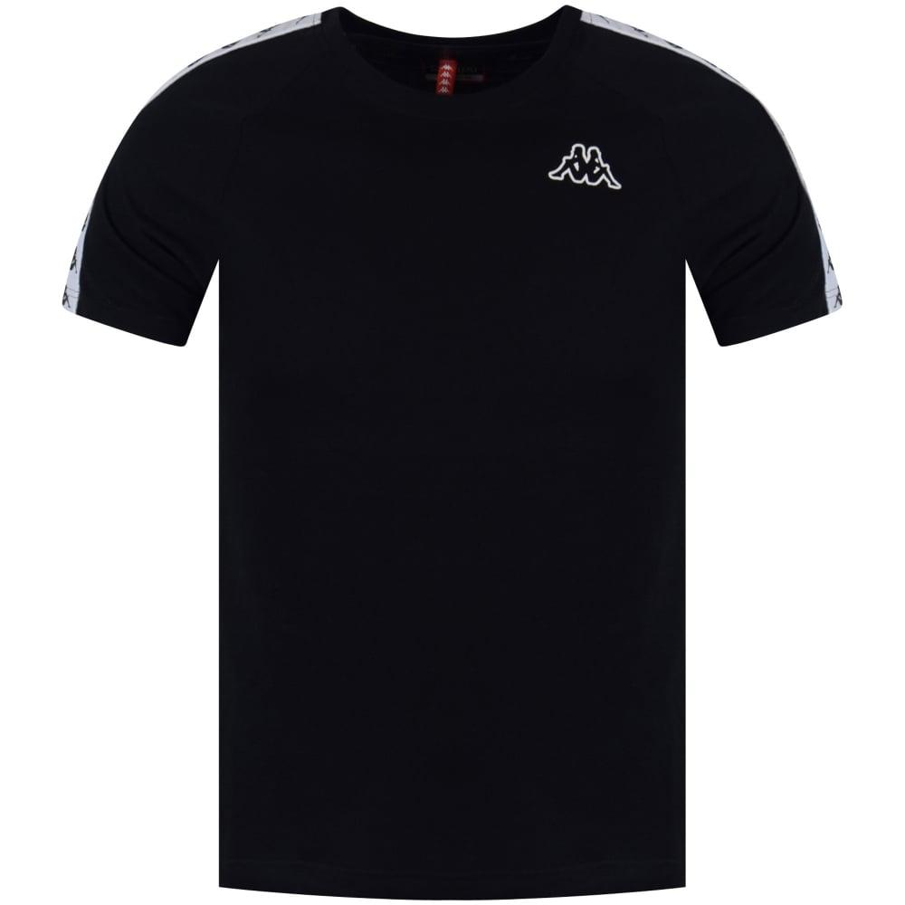 Sin personal Conquista ordenar  KAPPA Kappa Black Logo T-Shirt - Men from Brother2Brother UK