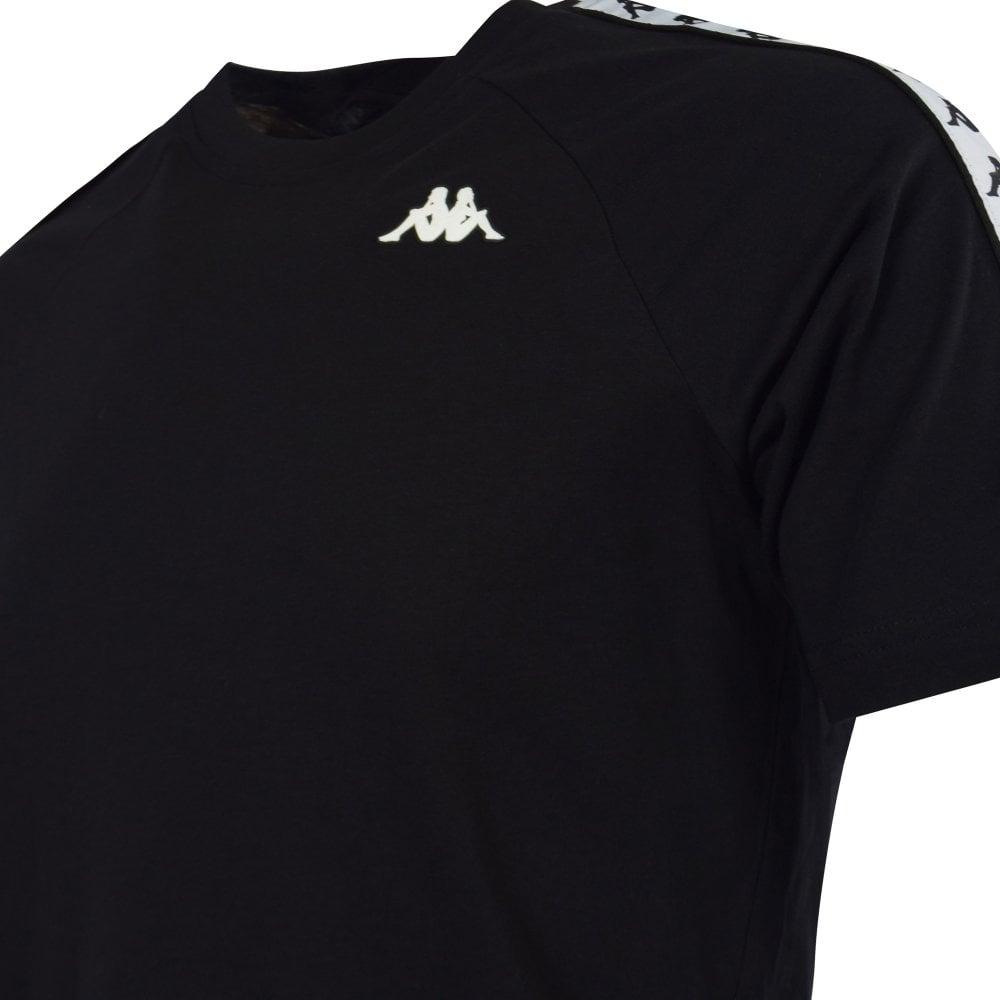 12c4f9b0 KAPPA Black/White Banda Coen T-Shirt - Men from Brother2Brother UK