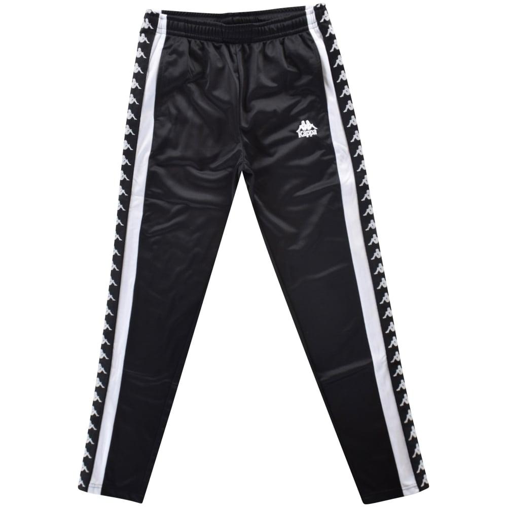 da96517eef KAPPA Kappa Black/White Slim Fit Sweatpants