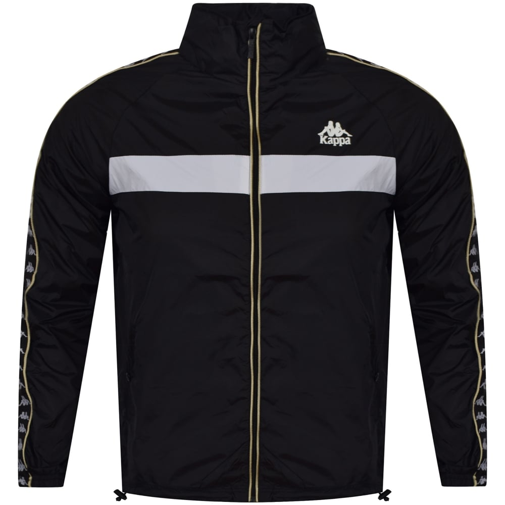 f9054ce6375 KAPPA Kappa Black/White Zip Up slim Fit Track Top - Department from ...