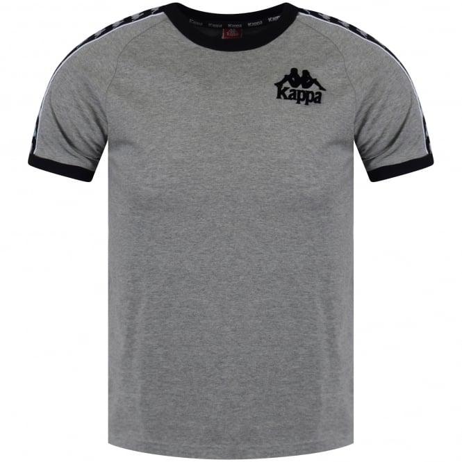 brand new f3130 fbcaa KAPPA Kappa Grey/Black Logo T-Shirt