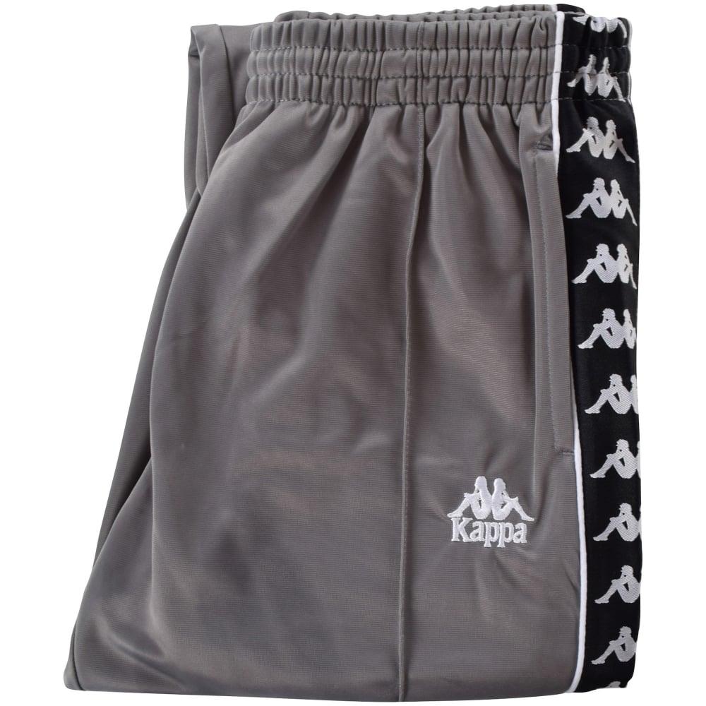 f0a8d29bf0 KAPPA Kappa Grey Slim Fit Fairfax Jogging Bottoms