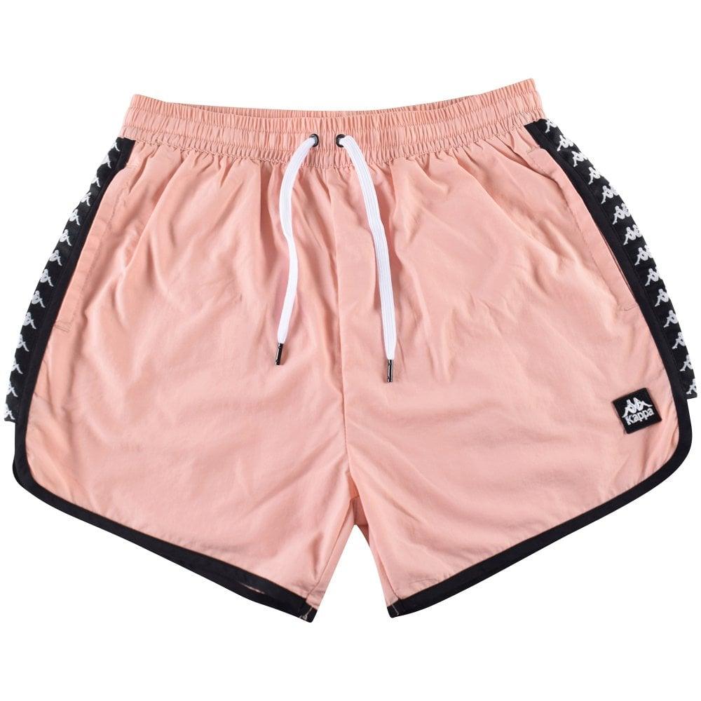 843fed958 KAPPA Kappa Pink/Black Swim Shorts - Men from Brother2Brother UK