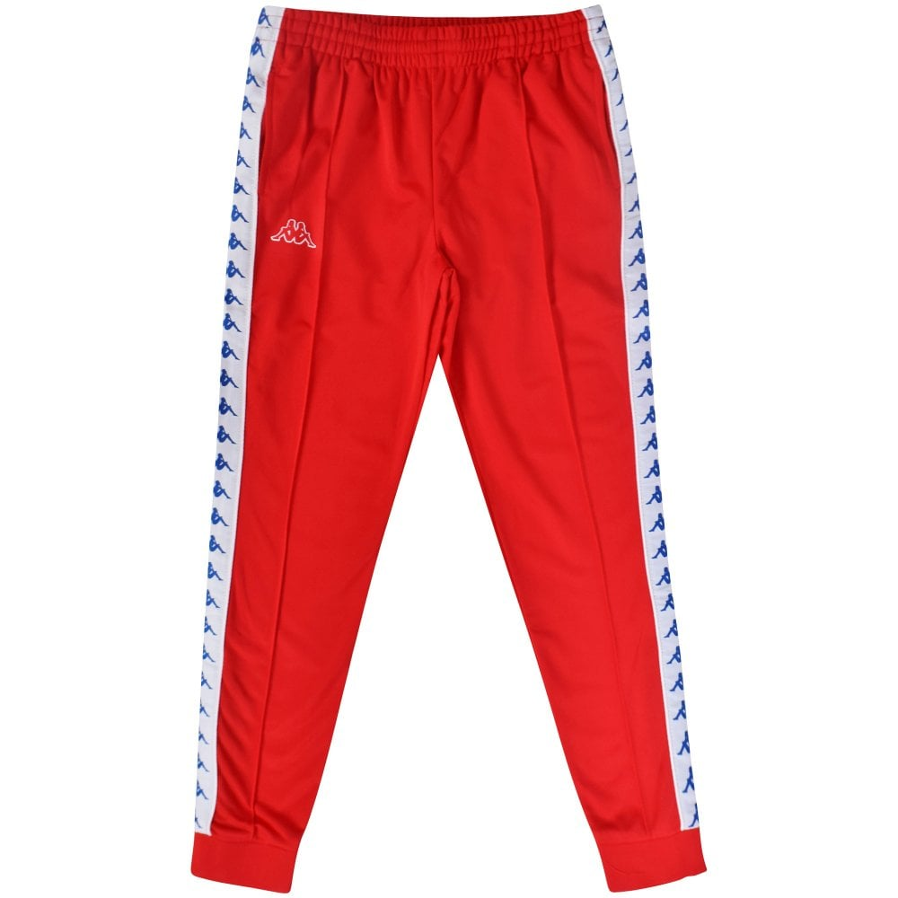 speical offer nice cheap 50% off KAPPA Red Banda Tracksuit Bottoms - Men from Brother2Brother UK