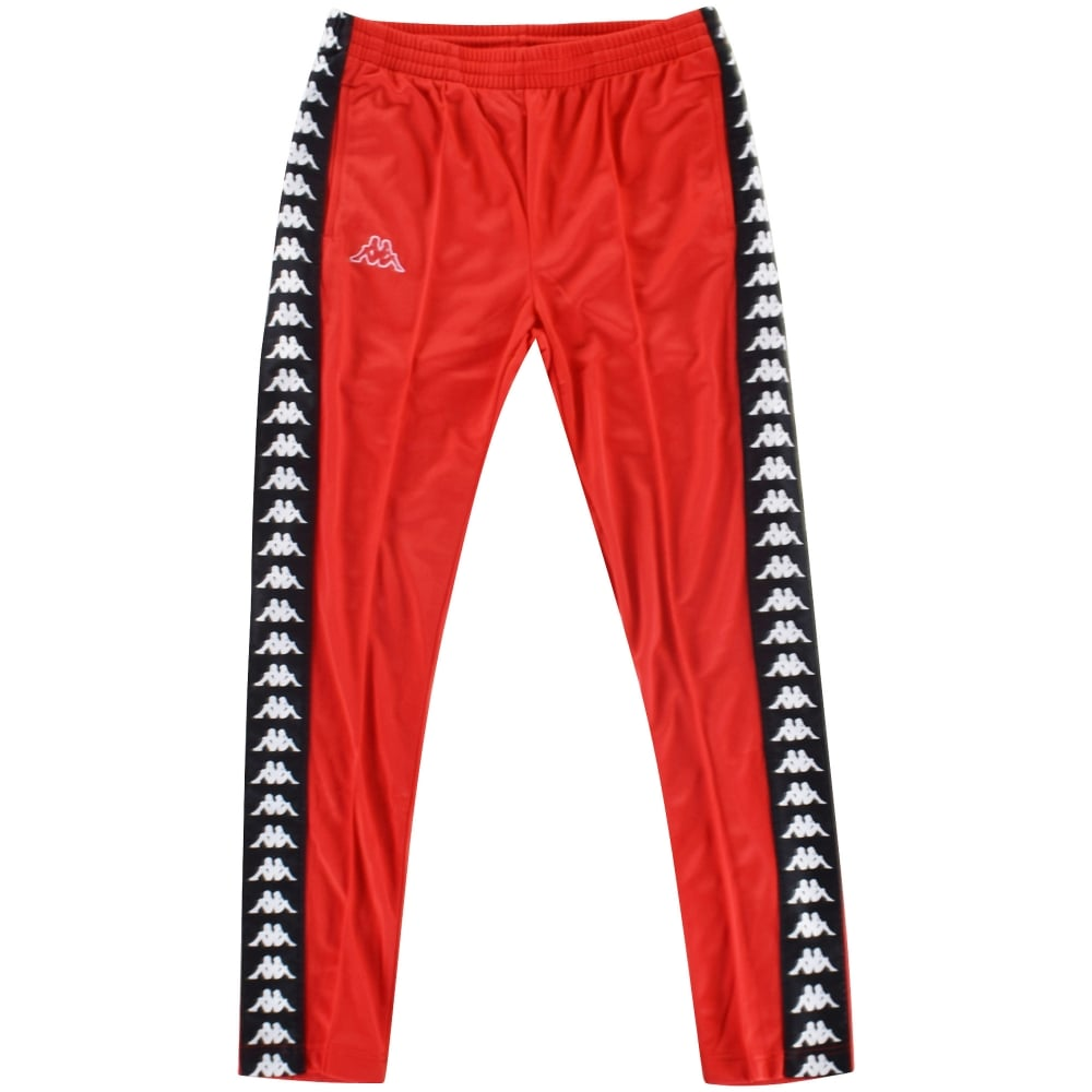d9934826 KAPPA Kappa Red/Black Slim Fit Sweatpants
