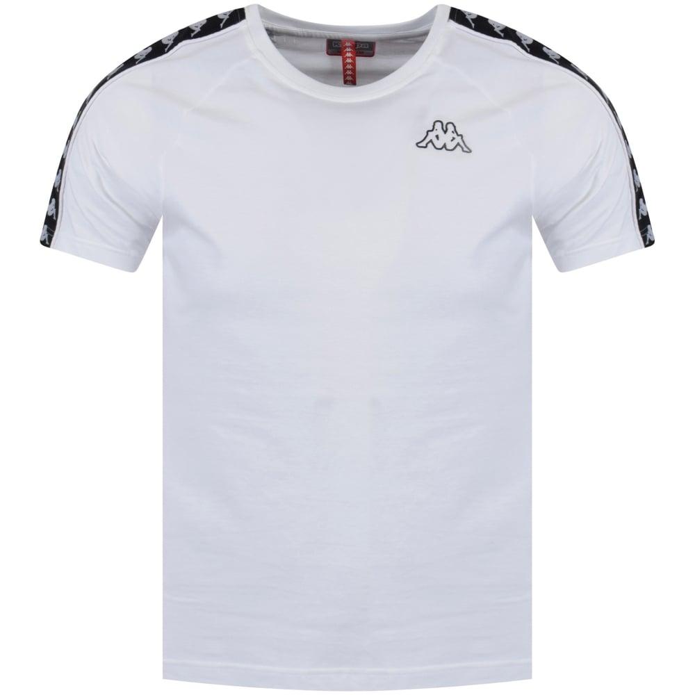 Zanahoria Humedad convergencia  KAPPA Kappa White/Black Logo T-Shirt - Men from Brother2Brother UK