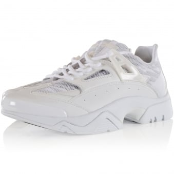 Kenzo All White 'Sonic' Trainers