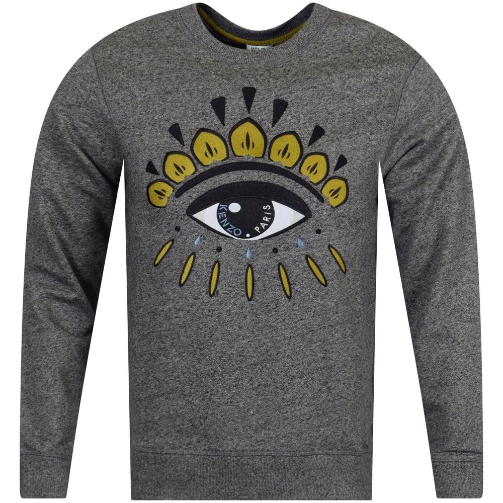 2d8c47a8c8 Anthracite Grey/Gold Eye Logo Sweatshirt