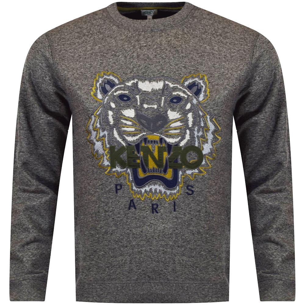 f4344a5bc4 Anthracite Grey Tiger Logo Sweatshirt