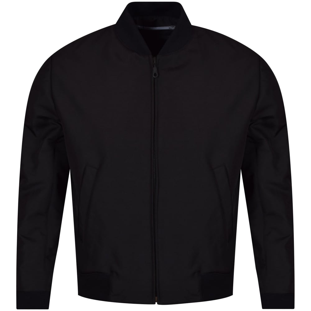 KENZO Kenzo Black Back Tiger Logo Bomber Jacket - Men from ...