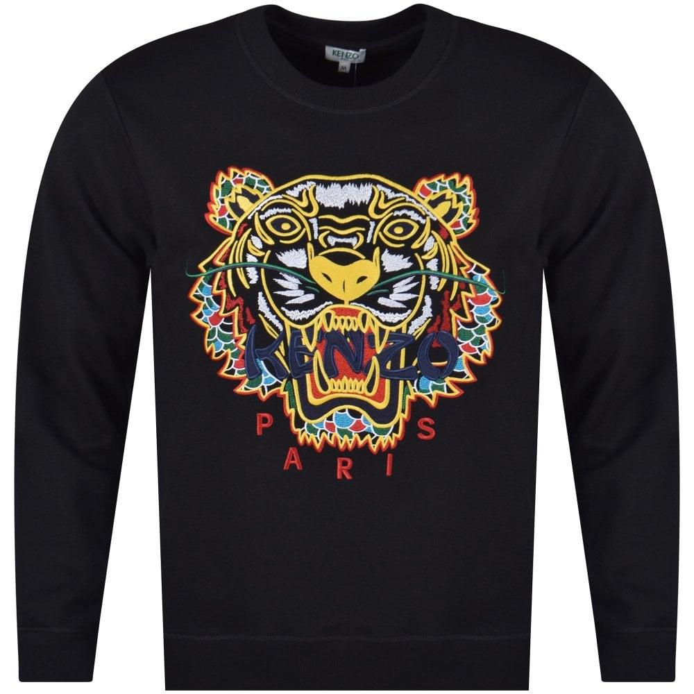 KENZO Kenzo Black Dragon Tiger Sweatshirt - Men from Brother2Brother UK ac8bbe91e45