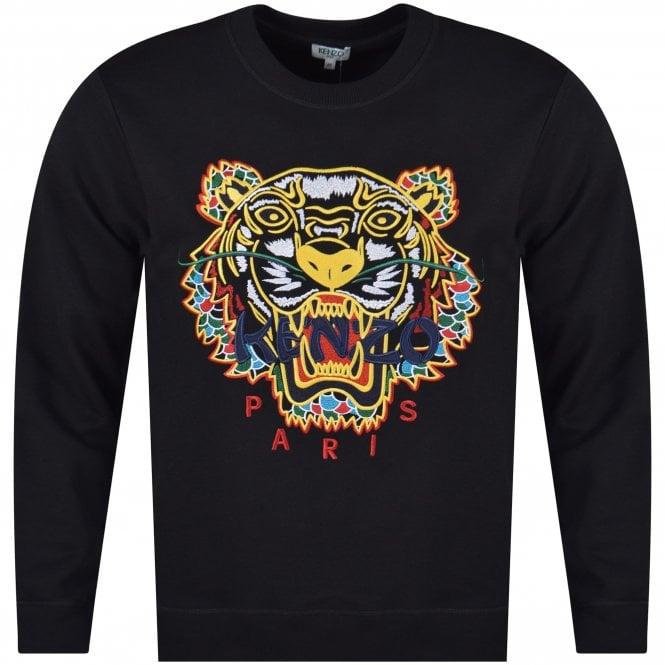 40a8f5c6 KENZO Kenzo Black Dragon Tiger Sweatshirt - Department from ...